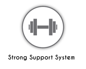 strong support system